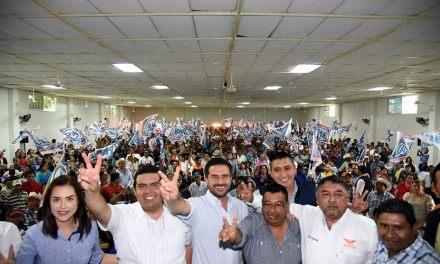 Miguel Ángel Yunes Márquez continúa intensa gira de trabajo en el Norte de Veracruz