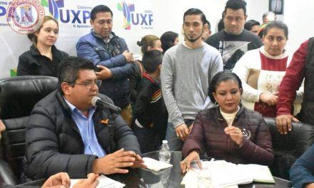 Pliego Petitorio de Movimiento Antorchista al Ayuntamiento de Tuxpan