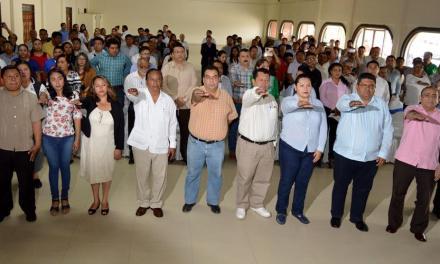 Toman protesta los Consejos Municipales de Población