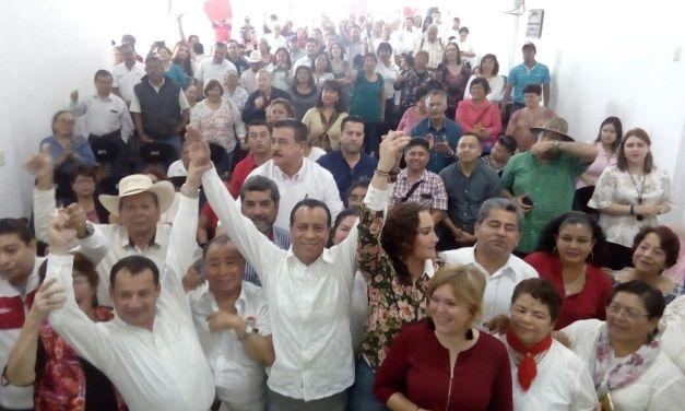 Postulan a José Rolando Núñez Uribe como precandidato del PRI a la diputación local