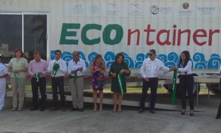 """inauguran exhibición del contenedor educativo """"ECOntainer"""""""