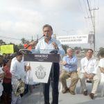 MAYL inaugura el Libramiento y da arranque a la reconstrucción de la Tuxpan-Tamiahua