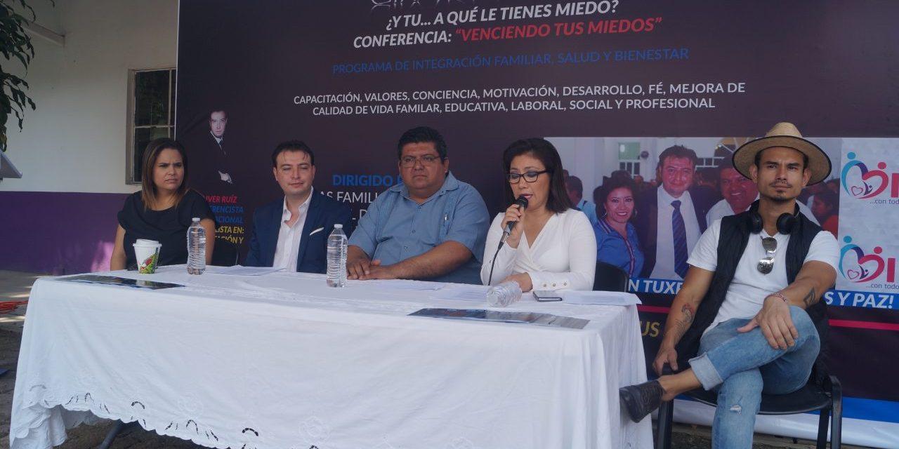 """DIF realizará ciclo de conferencias denominada """"Gira del Miedo"""""""