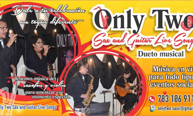 Only Two – Sax and Guitar Live Songs