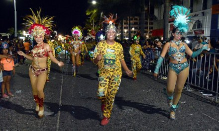 Rompió récords el carnaval Tuxpan 2018