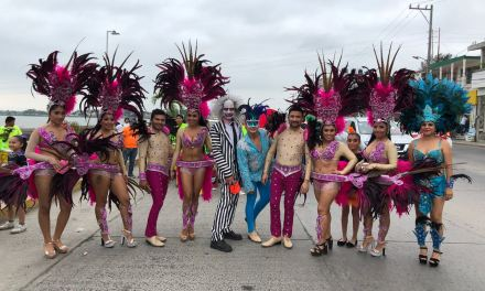 Segundo gran papaqui de carnaval Tuxpan 2018