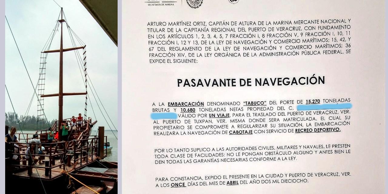 """Secuestran en Casitas la embarcación el """"Tabuco"""""""