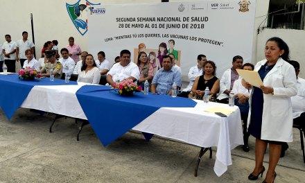 Alcalde da inicio a Segunda Semana Nacional de salud