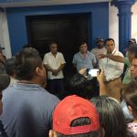 Con manifestación, pescadores exigen pago a Transcanada