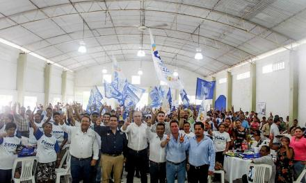 Importante la suma de esfuerzos para continuar con el cambio: Arturo Esquitín