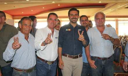 Trabajemos juntos para continuar con la transformación de Veracruz: Arturo Esquitín