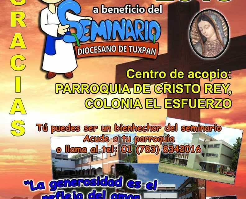 DONATÓN PARA EL SEMINARIO