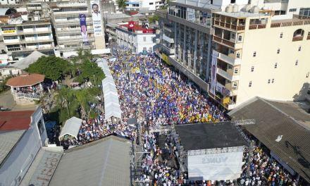 Impresionante cierre de Miguel Ángel Yunes Márquez en Tuxpan