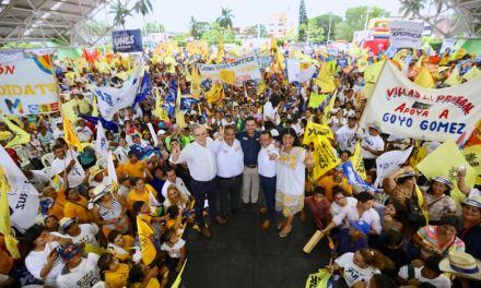 Miguel Ángel Yunes Márquez invita a los veracruzanos a votar por la experiencia y resultados este 1° de julio
