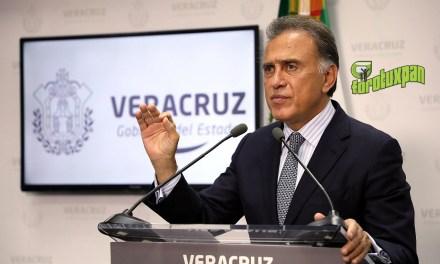 Duarte no saldrá libre: Gobernador Yunes