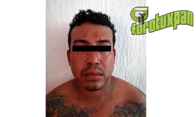Captura Policía Estatal a asaltante de comercios en Veracruz