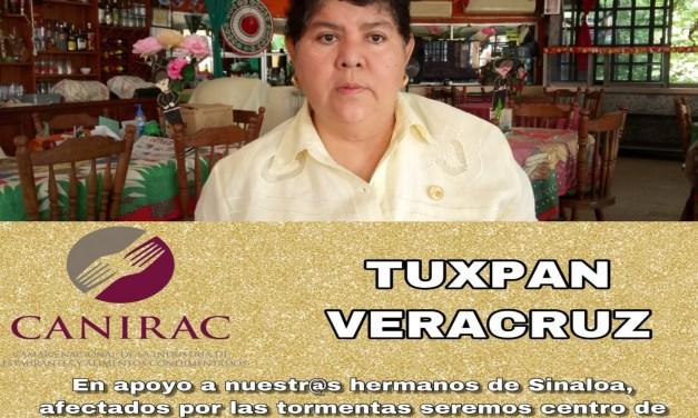 CANIRAC Tuxpan en Apoyo a Damnificados de Sinaloa