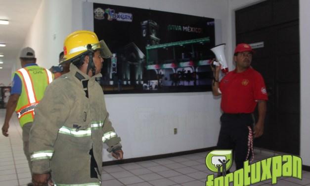 Macro Simulacro de Sismo en Tuxpan por Gobierno Municipal