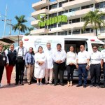 Presenta Toño Aguilar ambulancias de alta tecnología