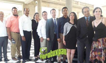 Tuxpeños Promocionan Ritual de Candiles en CDMX