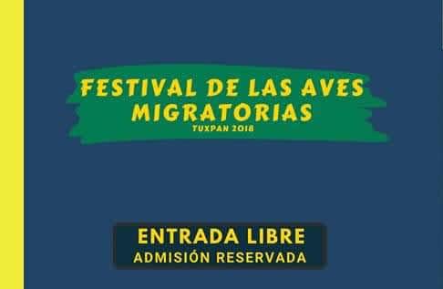 Próximamente Festival de las Aves Migratorias en Tuxpan