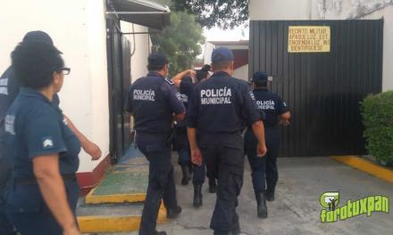 Policías Municipales son sometidos a exámenes Toxicológicos