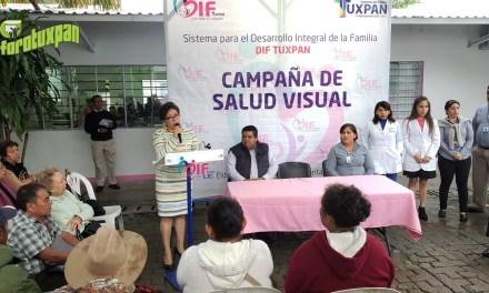 Inicia Tercera Campaña de Salud Visual en DIF Tuxpan