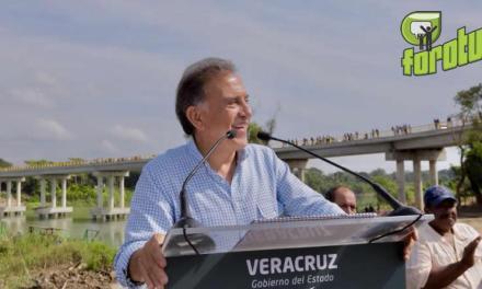MAYL Inaugura reconstrucción de la carretera de Tuxpan-Tamiahua