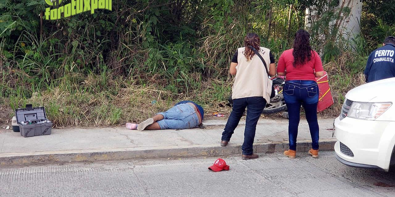 Accidente de tránsito enluta una familia: Un motociclista muerto.