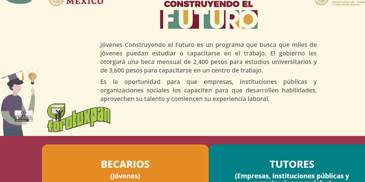 Jóvenes Construyendo El Futuro Un Programa Del Gobierno
