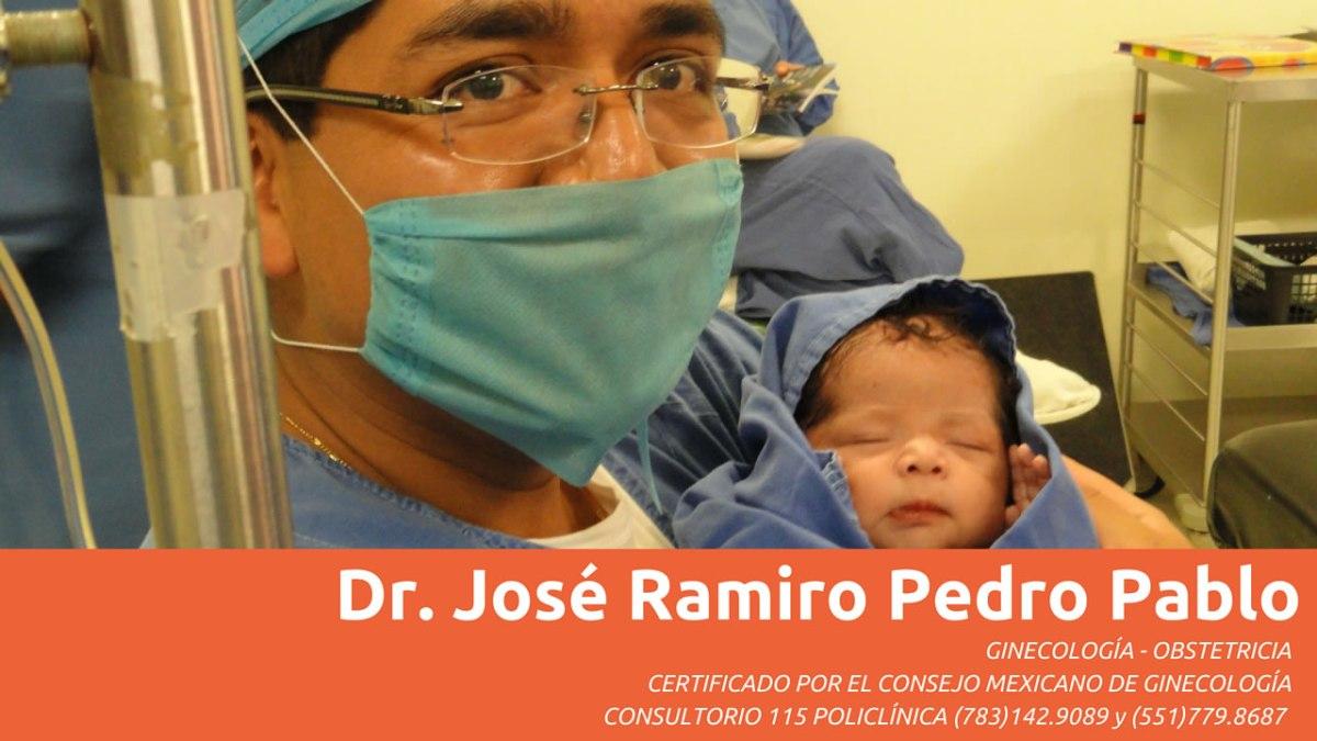 Dr. José Ramiro Pedro Pablo - Ginecología y Obstetricia