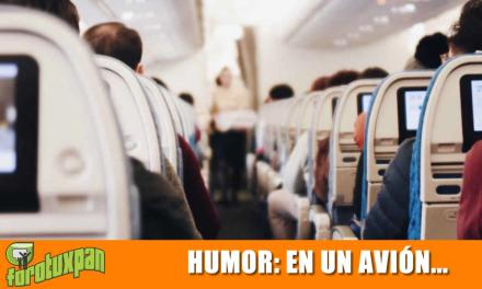 En un Avión
