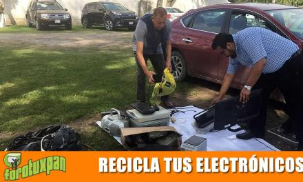 Recicla tus aparatos electrónicos