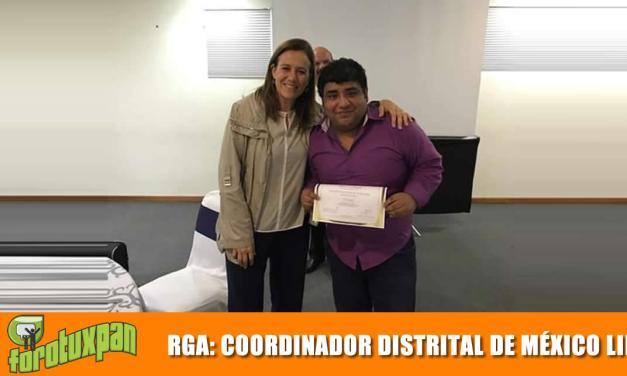 Nombran a Ricardo García del Ángel Coordinador Distrital