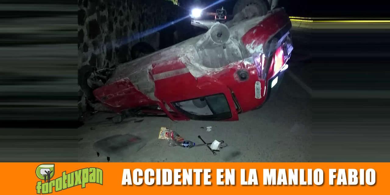 Accidente en la Manlio Fabio