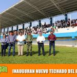 INAUGURAN NUEVO TECHADO DEL ESTADIO MUNICIPAL