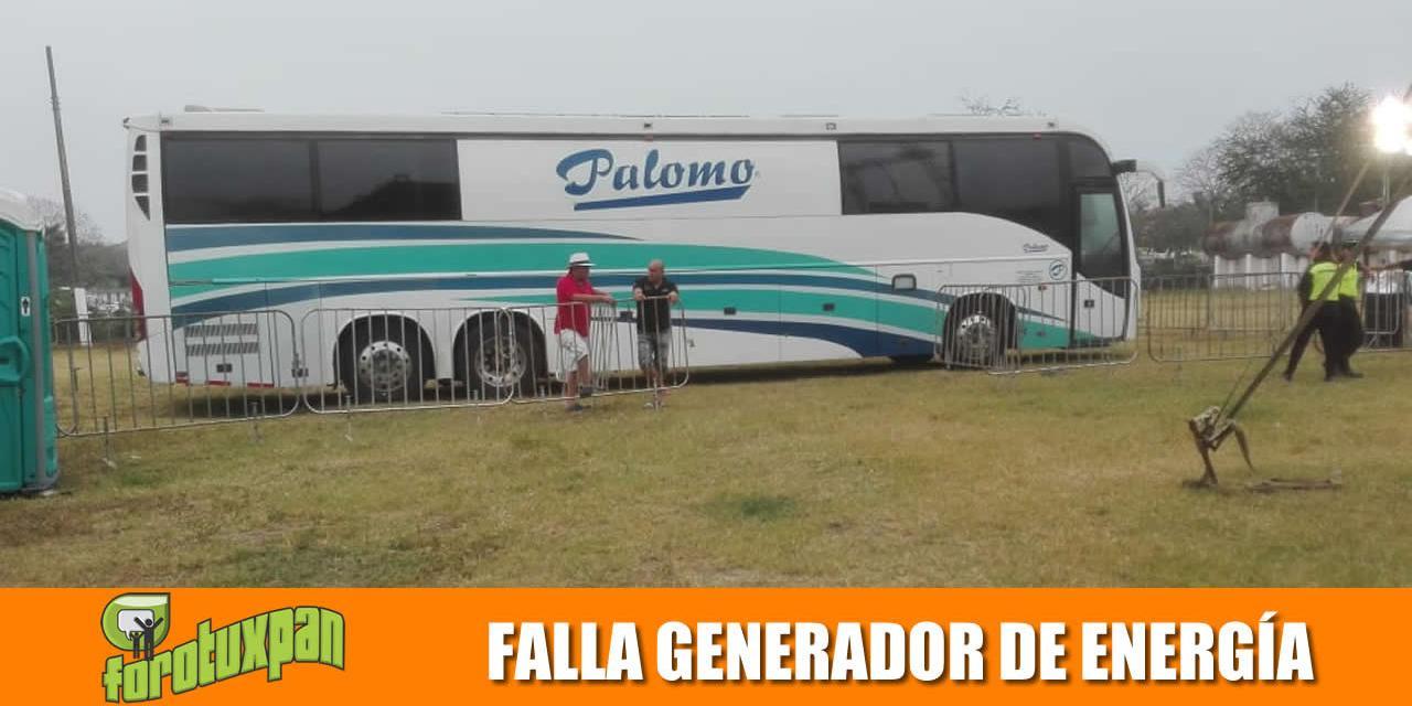 FALLA GENERADOR DE ENERGÍA