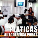 PLÁTICAS DE AUTODEFENSA PARA LAS MUJERES