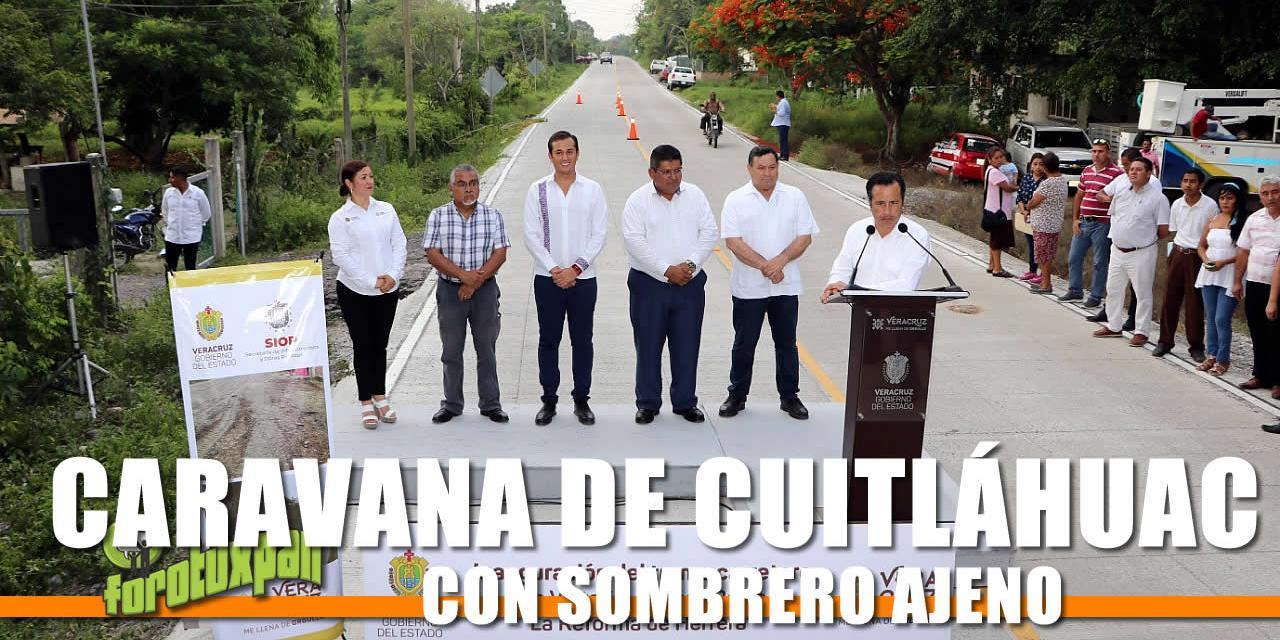 CARAVANA DE CUITLÁHUAC CON SOMBRERO AJENO