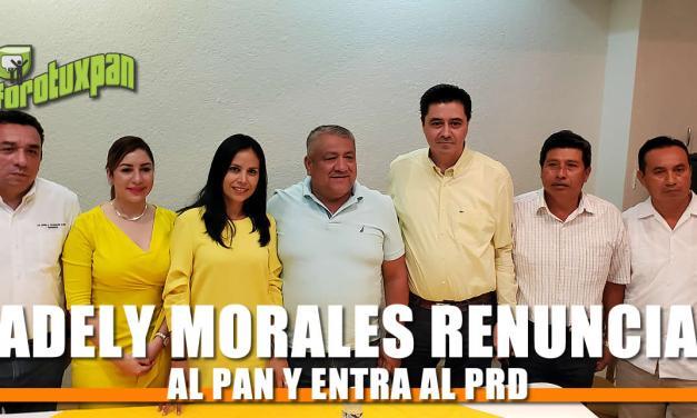 Adely Morales se viste de Amarillo