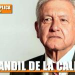 CANDIL DE LA CALLE…