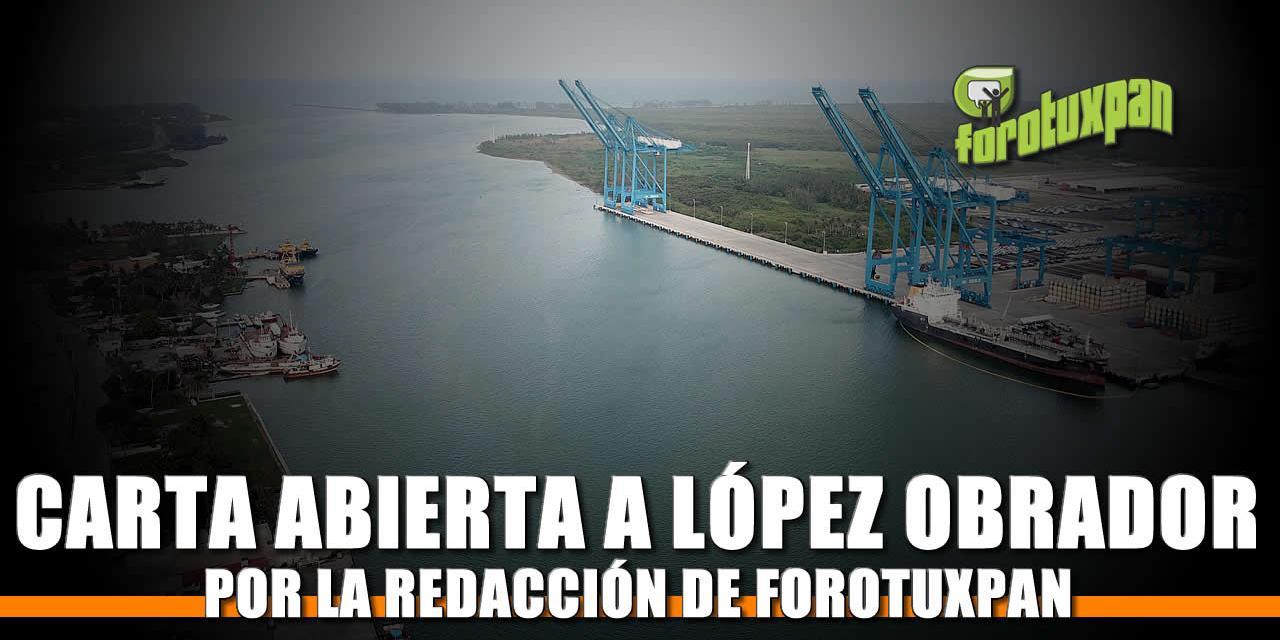 Carta Abierta al Presidente de la República Mexicana, Andrés Manuel López Obrador