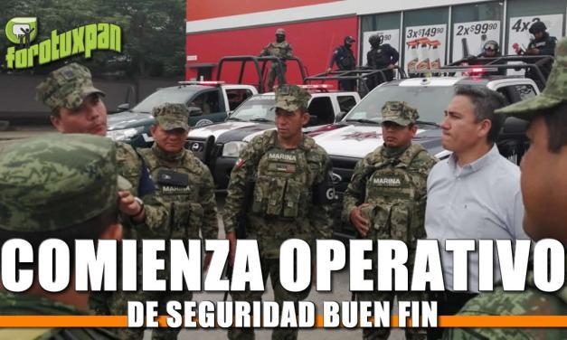 """Comienza operativo de seguridad """"BUEN FIN"""""""