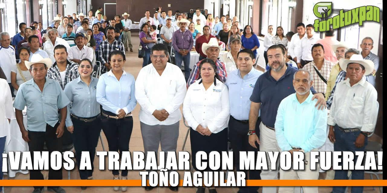 ¡Vamos a trabajar con MAYOR FUERZA! Toño Aguilar