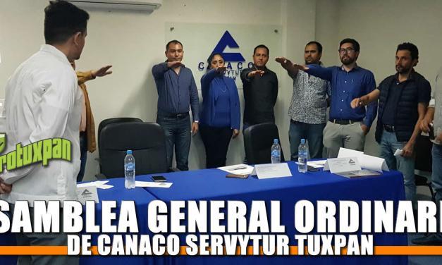 CONVOCAN A ASAMBLEA GENERAL ORDINARIA DE CANACO SERVYTUR