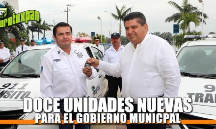 12 nuevas unidades para Gobierno Municipal