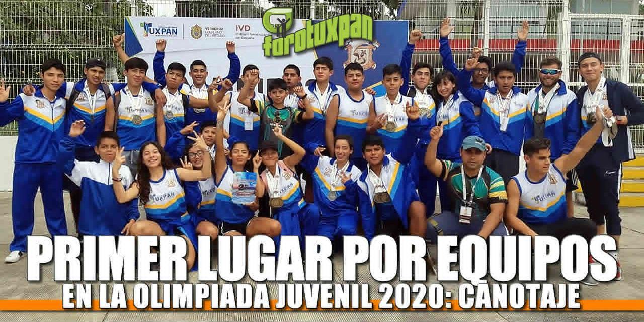 Obtiene TUXPAN PRIMER LUGAR por equipos en la Olimpiada Juvenil Veracruz 2020