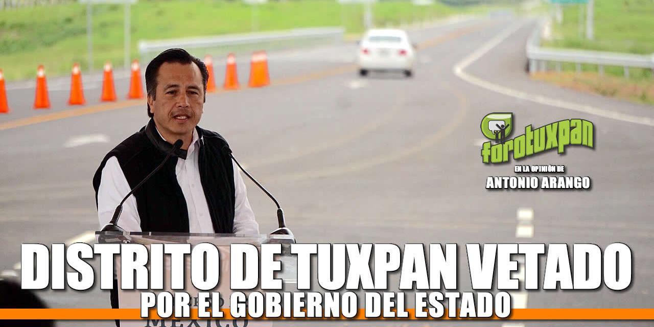 Tuxpan VETADO por el Gobierno del Estado