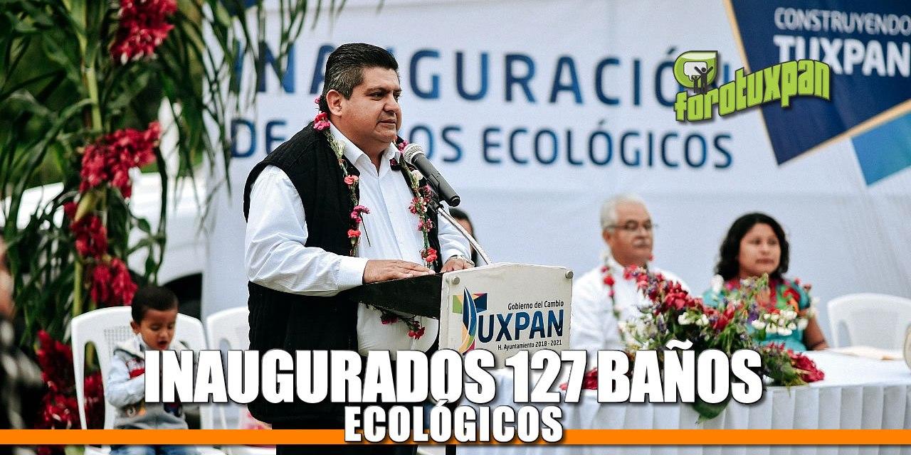 Inauguran 179 Baños Ecológicos