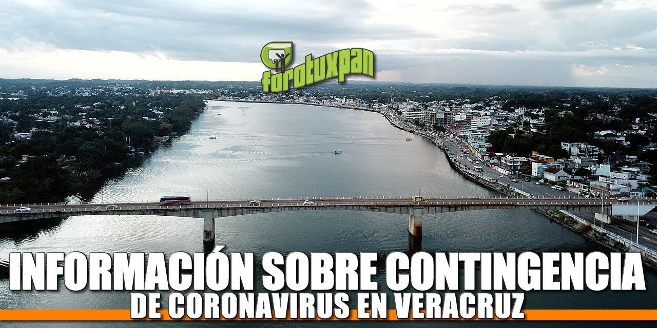 INFORMACIÓN SOBRE CONTINGENCIA DE Coronavirus en Tuxpan, Veracruz